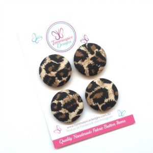28mm Leopard Magnets